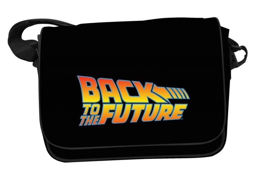 BACK TO THE FUTURE - Messenger Bag - Logo