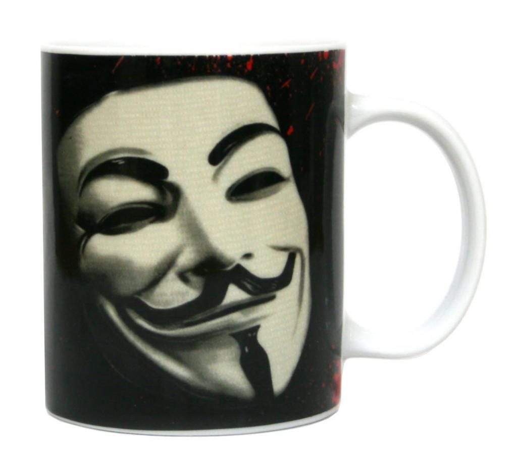 VENDETTA - Mug - Mask Ceramic Vendetta