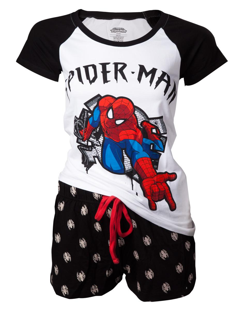 SPIDERMAN - Pyjama Spidey Shooting Women (XL)