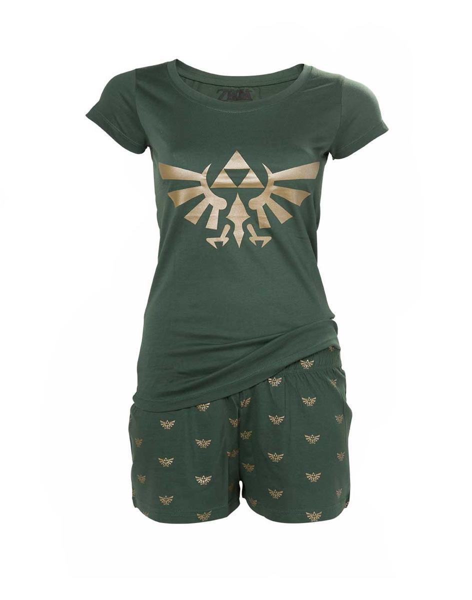 NINTENDO - Shortama ZELDA Hyrule Nightwear Women (XL)