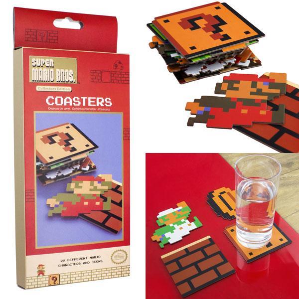 NINTENDO - Super Mario Bros Coasters Pack