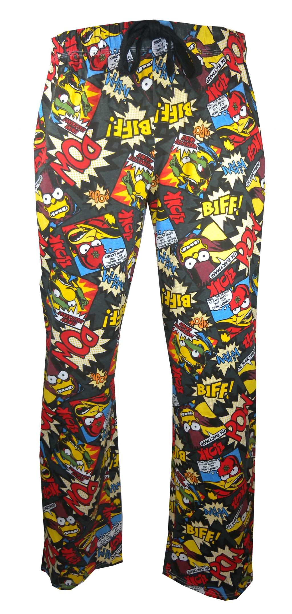 SIMPSONS - Pantalon Pyjama - Biff Pow (XXL)_2