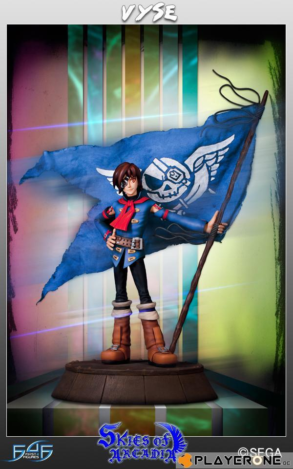 SKIES OF ARCADIA - Vyse Statue ( Limited Edition 1000 Exp )
