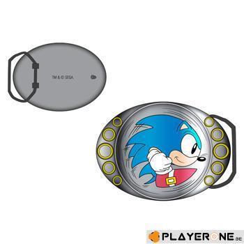 SONIC - Boucle de ceinture : Running Sonic