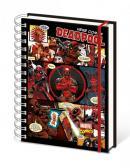 DEADPOOL - Notebook A5 - Montage