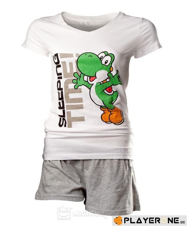 NINTENDO - Pyjama Yoshi White / Grey Women (L)