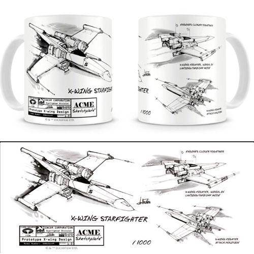 STAR WARS - Mug - X-Wing White