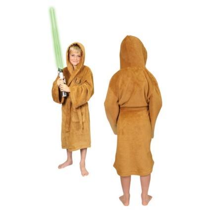STAR WARS - Peignoir - Jedi Tan Logo - Enfant (10-12 ans) - Taille (L)