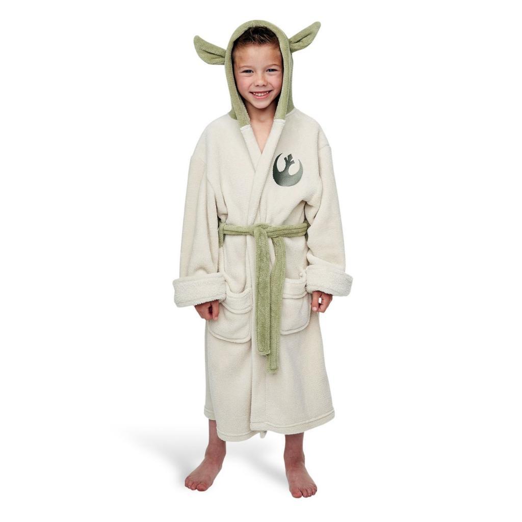 STAR WARS - Peignoir - Yoda - Enfant (4-6 ans) - Taille (S)