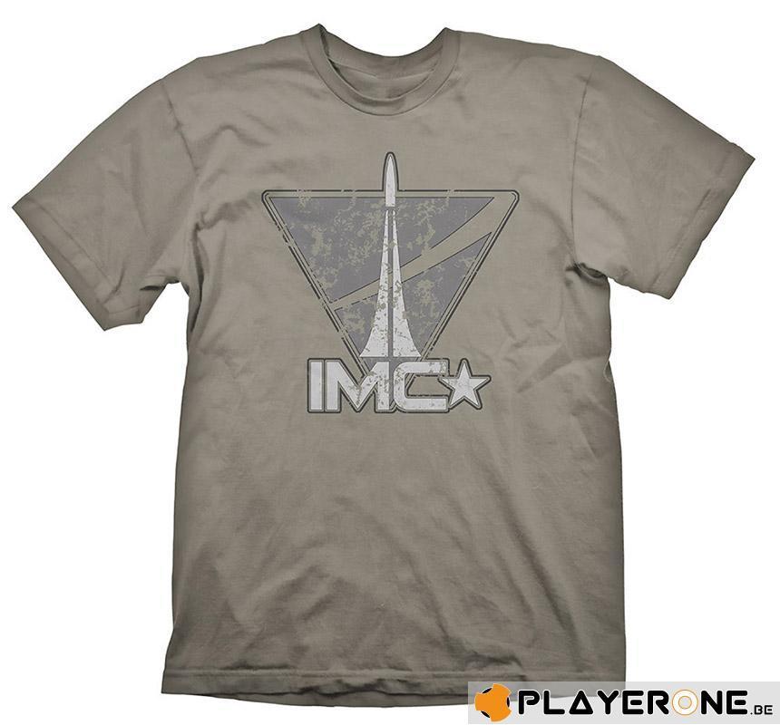 TITAN FALL - T-Shirt IMC VINTAGE LOGO (L)