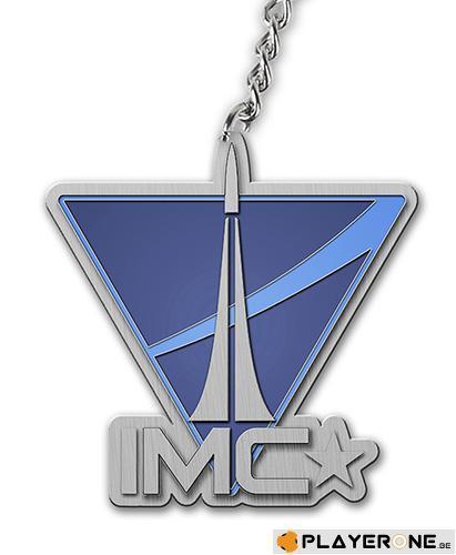 TITAN FALL - Keychain IMC Logo