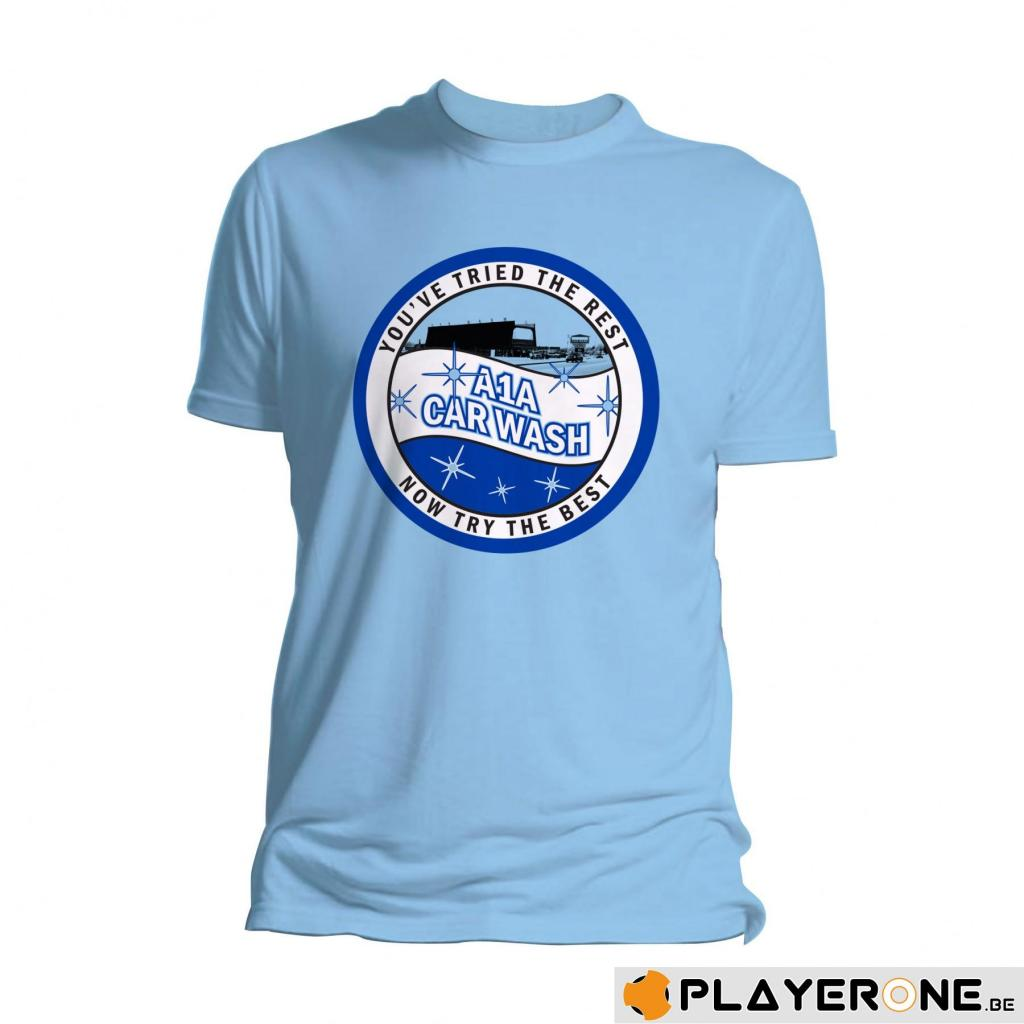BREAKING BAD - T-Shirt A1A Car Wash Blue (L)