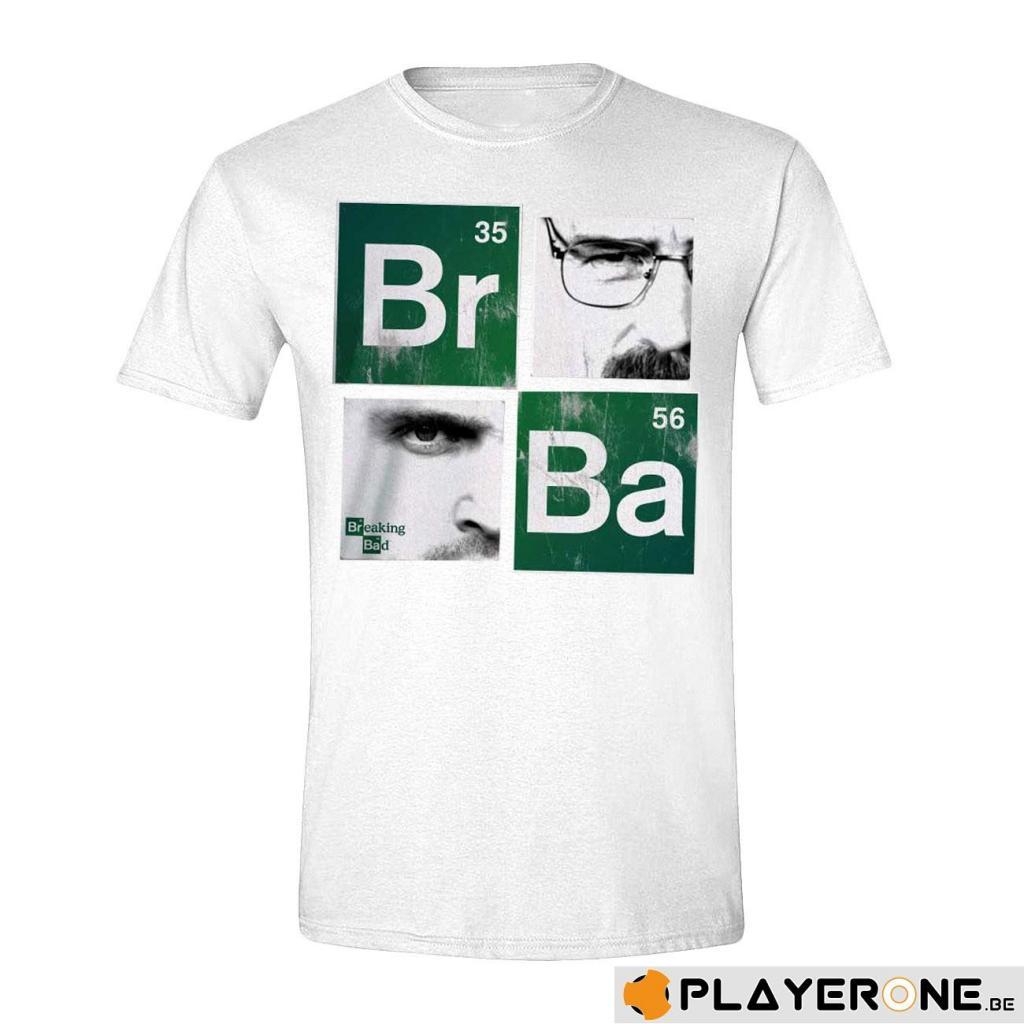 BREAKING BAD - T-Shirt Logo White (S)