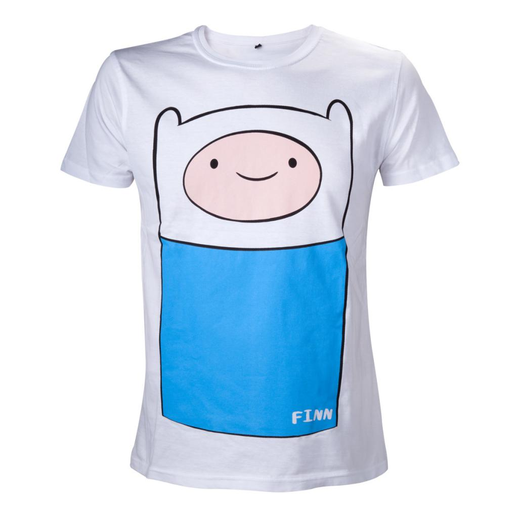 ADVENTURE TIME - T-Shirt Finn Full Front (L)