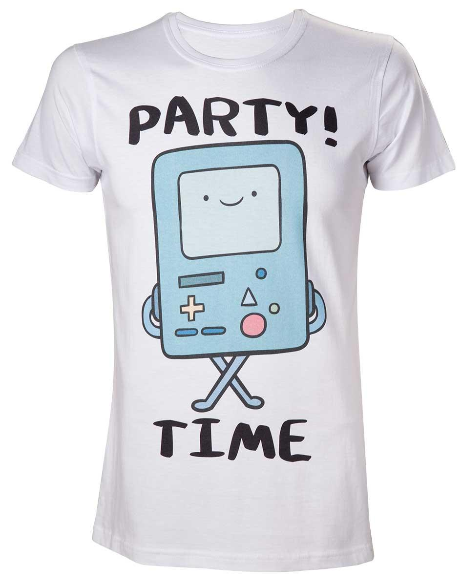 ADVENTURE TIME - T-Shirt Beemo Party Time (L)