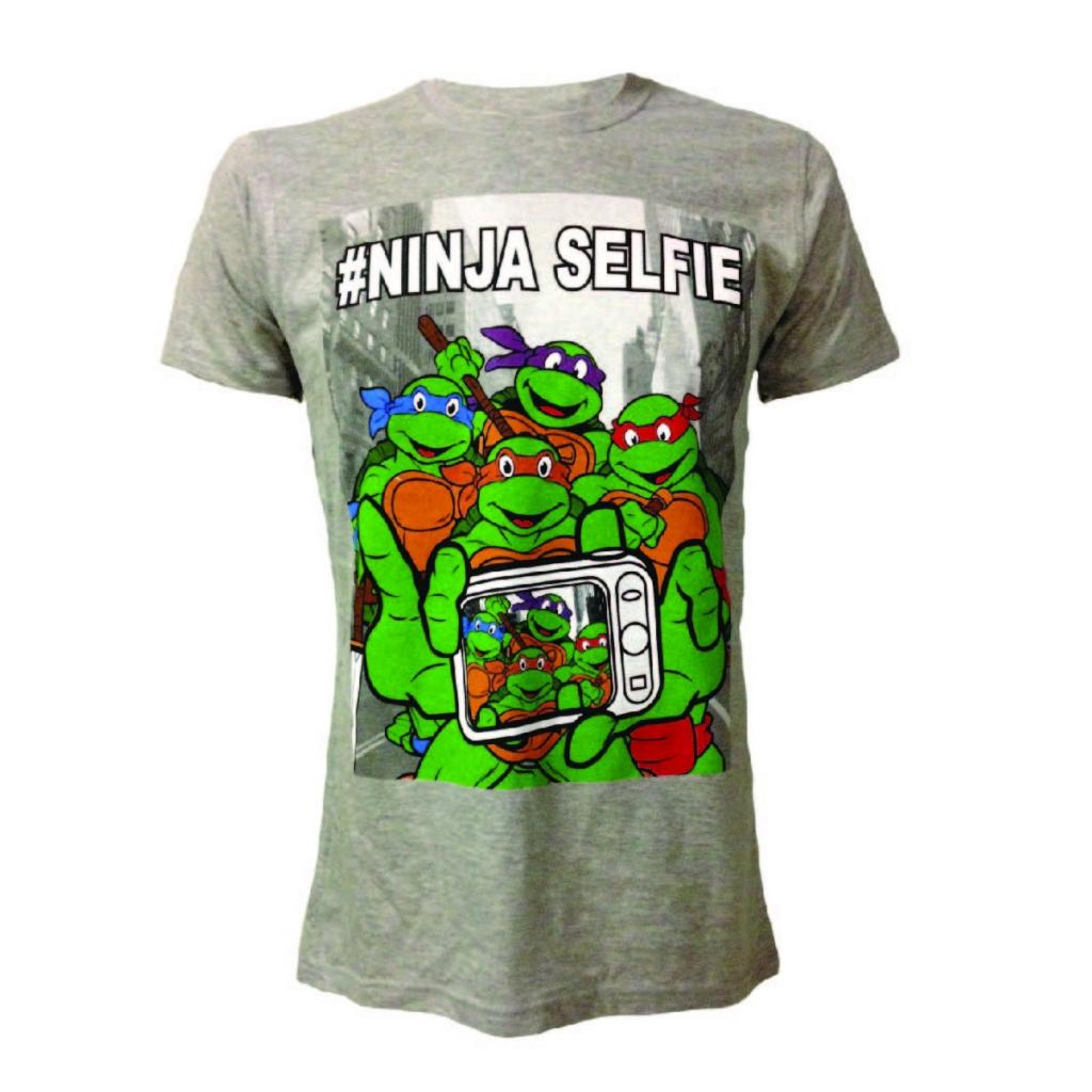 NINJA TURTLES - T-Shirt - Selfie (L)