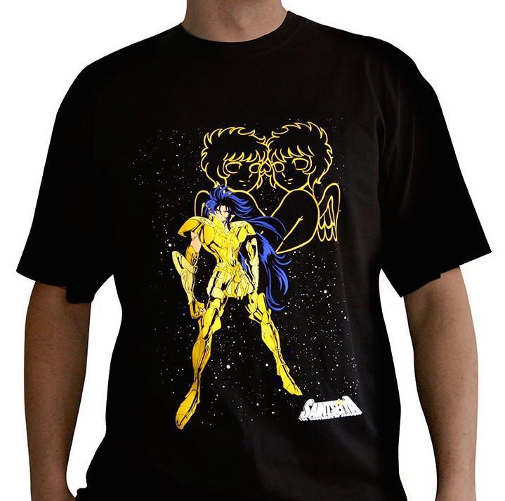 SAINT SEIYA - T-Shirt Basic Saga Des Gemeaux (S)