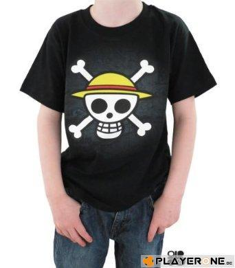 ONE PIECE - T-Shirt ENFANT Skull With Map - Black (7/8 Ans)