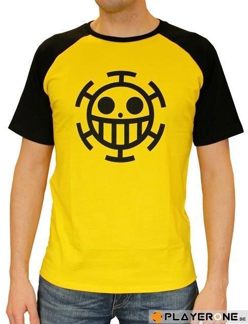 ONE PIECE - T-Shirt PREMIUM Homme Trafalgar Law - Yellow (S)_1