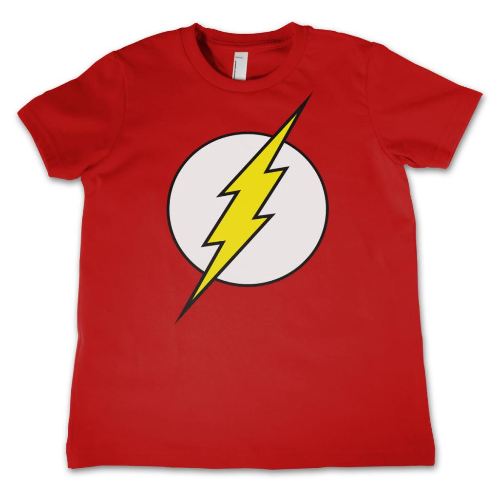 FLASH - T-Shirt KIDS Emblem Red (10 Years)