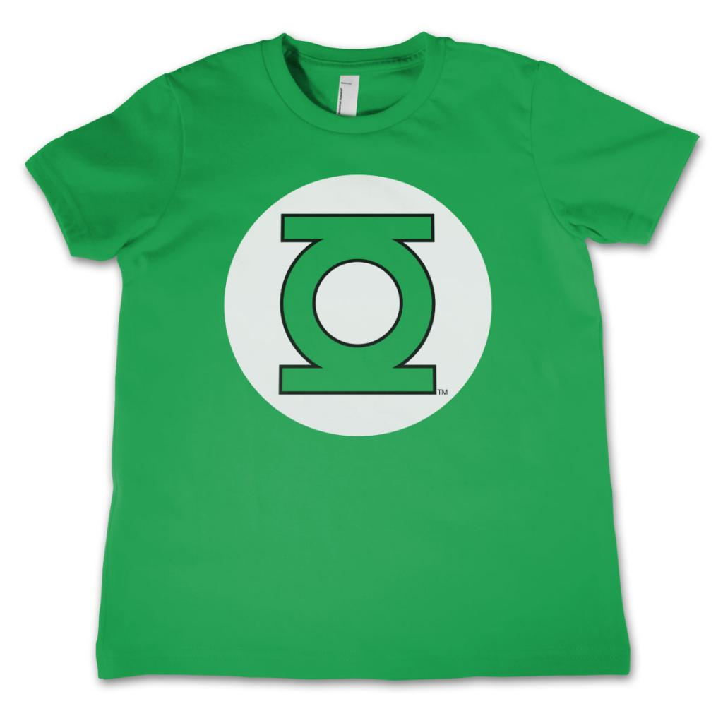GREEN LANTERN - T-Shirt KIDS Logo Green (10 Years)