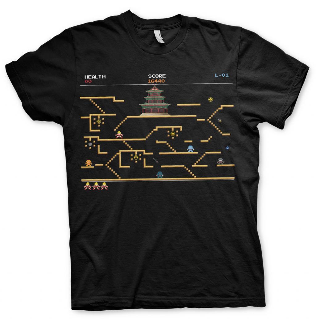 PIXELS - T-Shirt Dojo Quest Level - MEN (M)_1