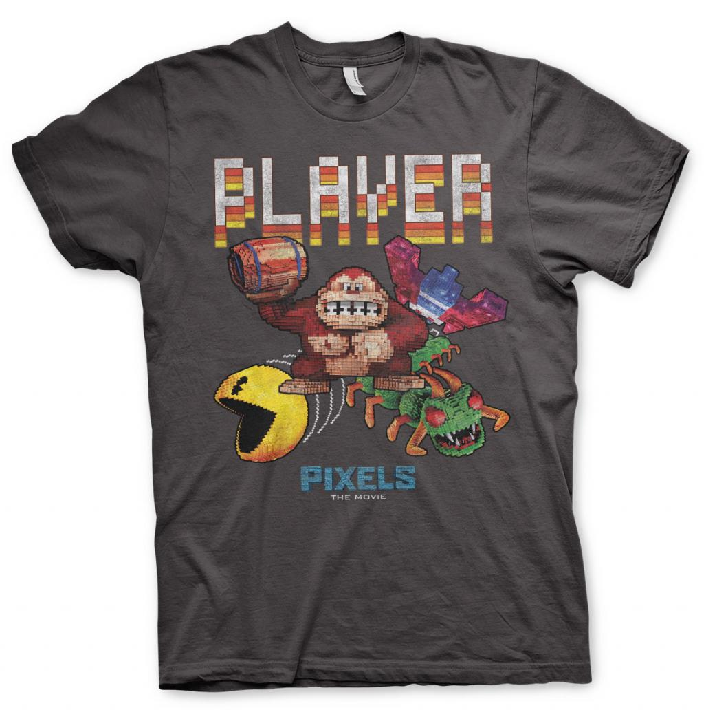 PIXELS - T-Shirt Retro Player - MEN (L)_1