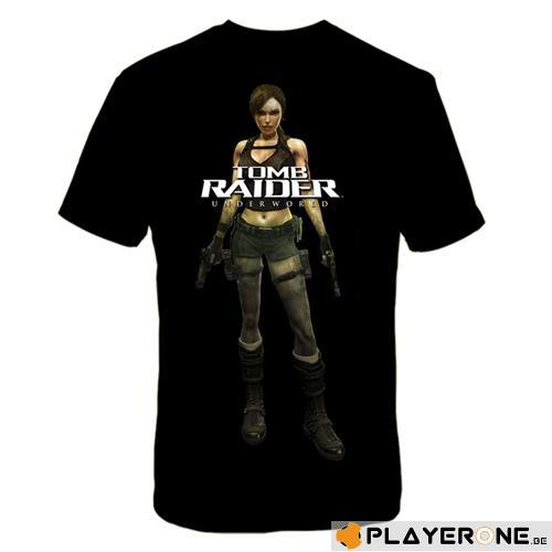 TOMB RAIDER  - T-Shirt Homme Cover (L)