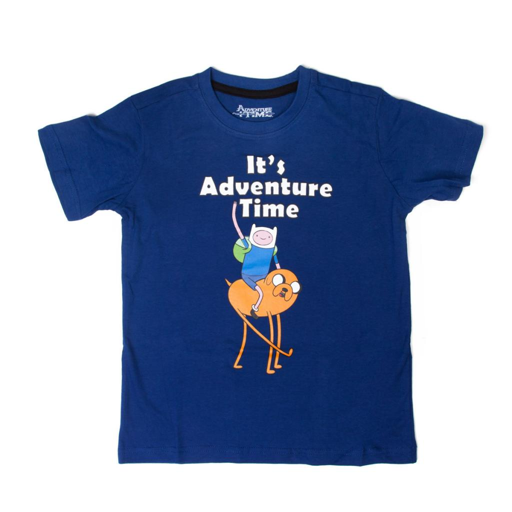 ADVENTURE TIME - T-Shirt It's Time  (128/134)