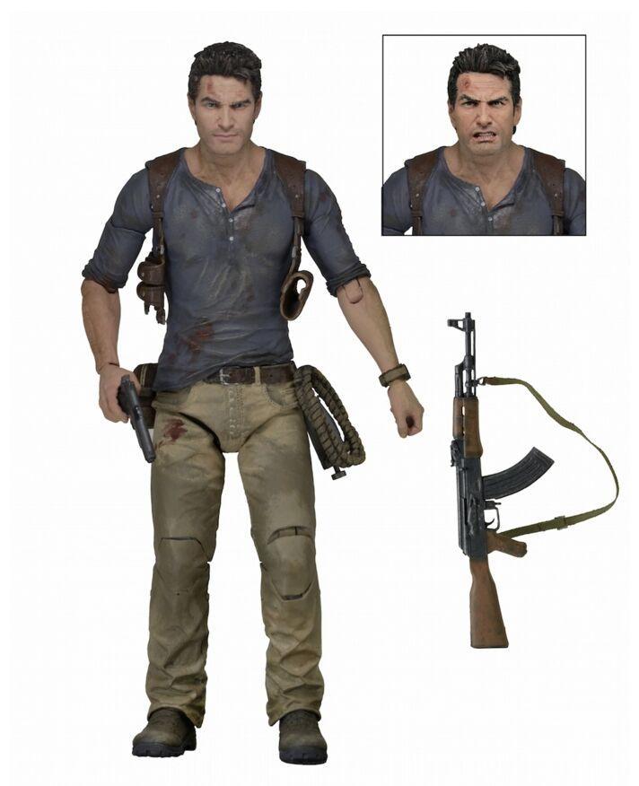 UNCHARTED 4 - Figurine Nathan Drake 18cm