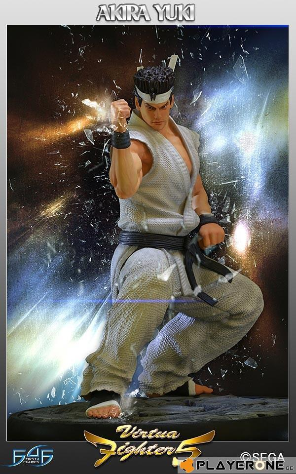 VIRTUA FIGHTER 5 - Akira Yuki 12 Inch Statue