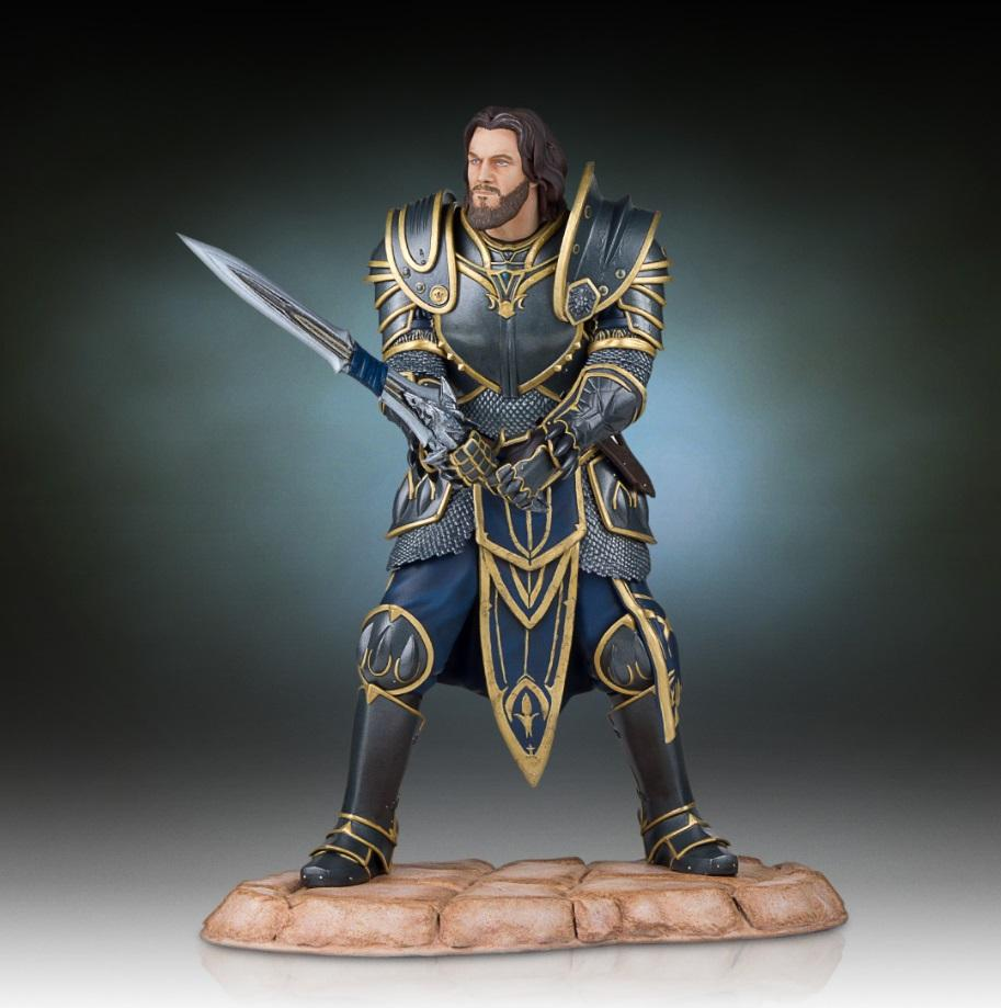 WARCRAFT - Lothar Statue 28cm - LIMITED EDITION