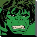 MARVEL COMICS - Canvas 40X40 '38mm' - HULK Close-Up