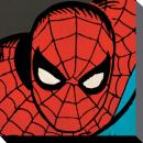MARVEL COMICS - Canvas 40X40 '38mm' - SPIDERMAN Close-Up