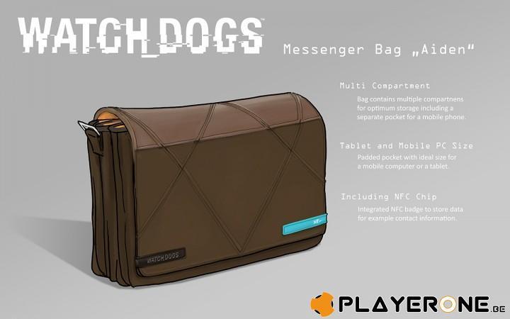 WATCH DOGS - Aiden Messenger Bag