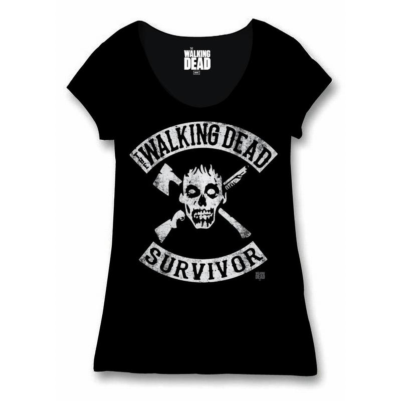 THE WALKING DEAD - T-Shirt Survivor - GIRL (S)_1