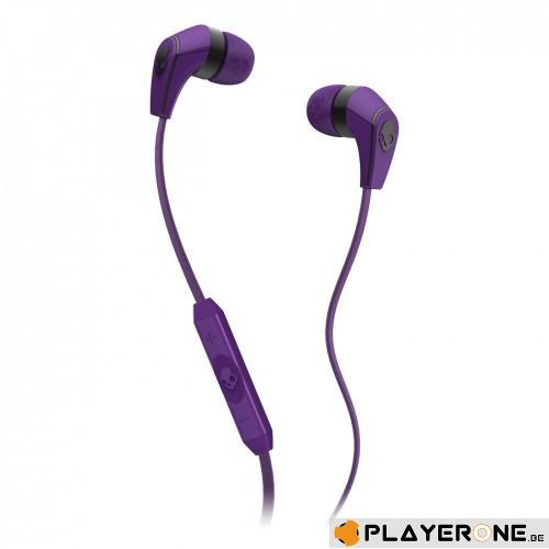 SKULLCANDY - 50/50 Athletic Purple ( With Mic + Shuffle Control )