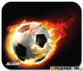 ALLSOP - Mouse Pad - Blazing Football