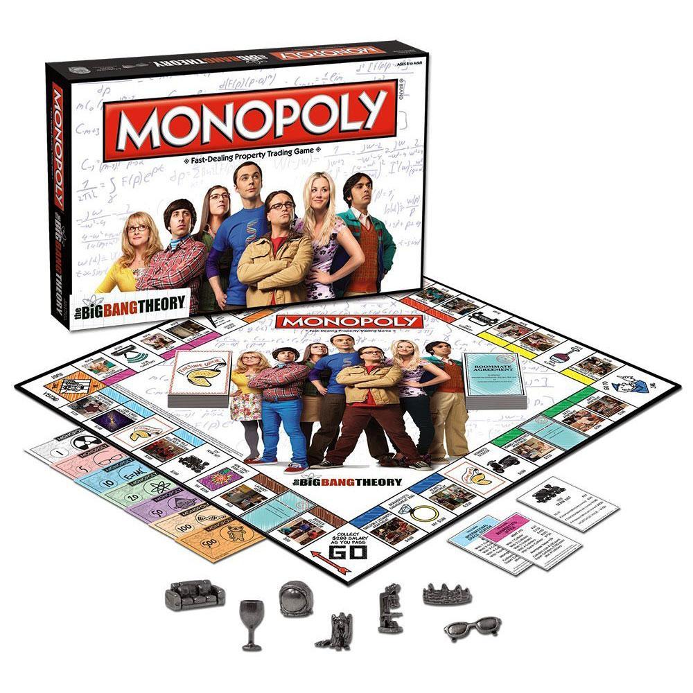MONOPOLY - Big Bang Theory (UK Only)