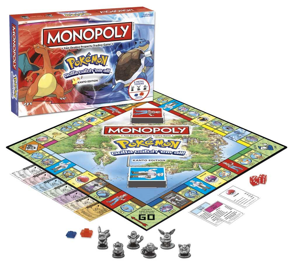 MONOPOLY - Pokemon Edition Kanto (FR)