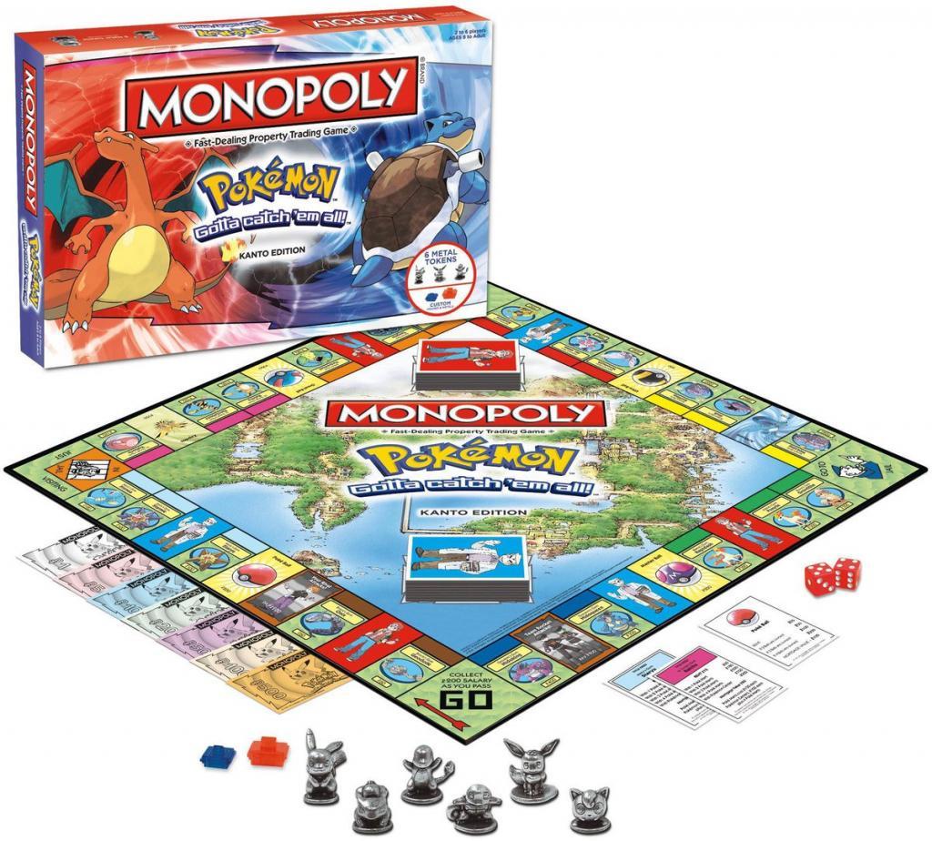 MONOPOLY - Pokemon Kanto Edition (UK)