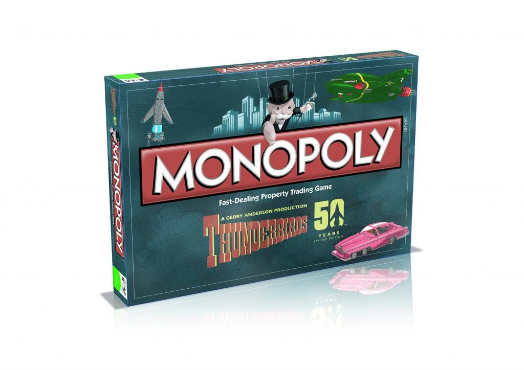 MONOPOLY - Thunderbirds Retro (UK Only)