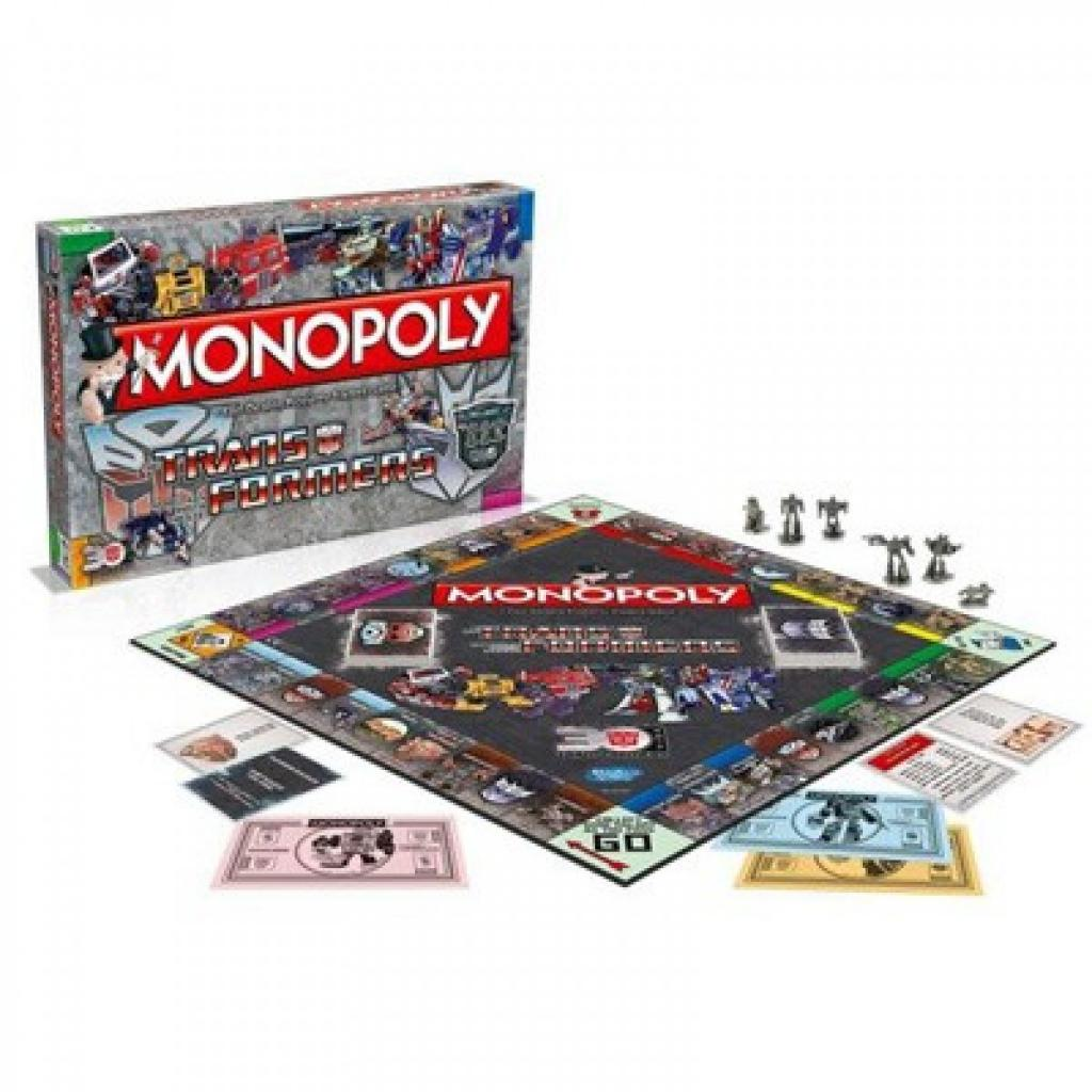 MONOPOLY - Transformers Retro (UK Only)