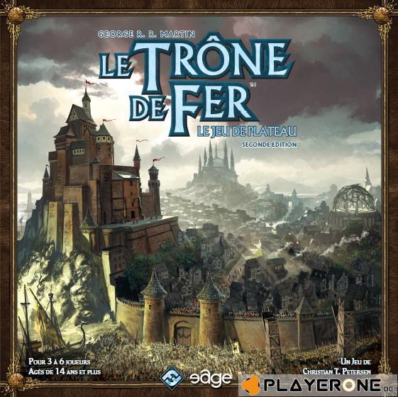 LE TRONE DE FER - Le jeu de plateau - Seconde Edition