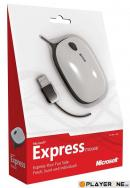 Express Notebook Mouse Red - Microsoft
