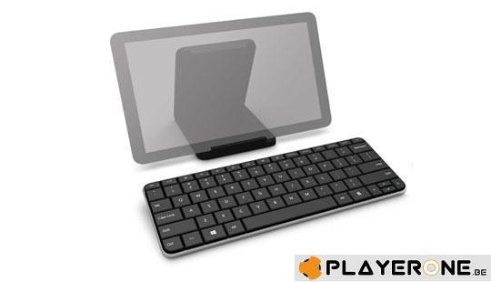 Wireless Keyboard - Wedge Mobile Keyboard Bluetooth AZERTY_1
