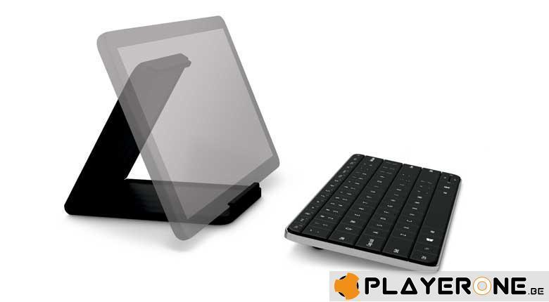 Wireless Keyboard - Wedge Mobile Keyboard Bluetooth AZERTY_4