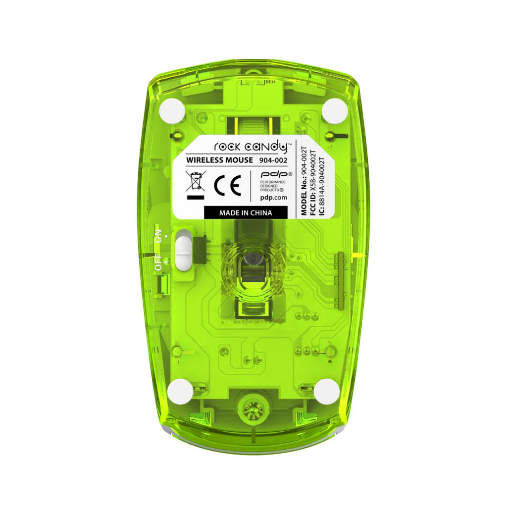 PDP - ROCK CANDY Wireless Mouse Green_3