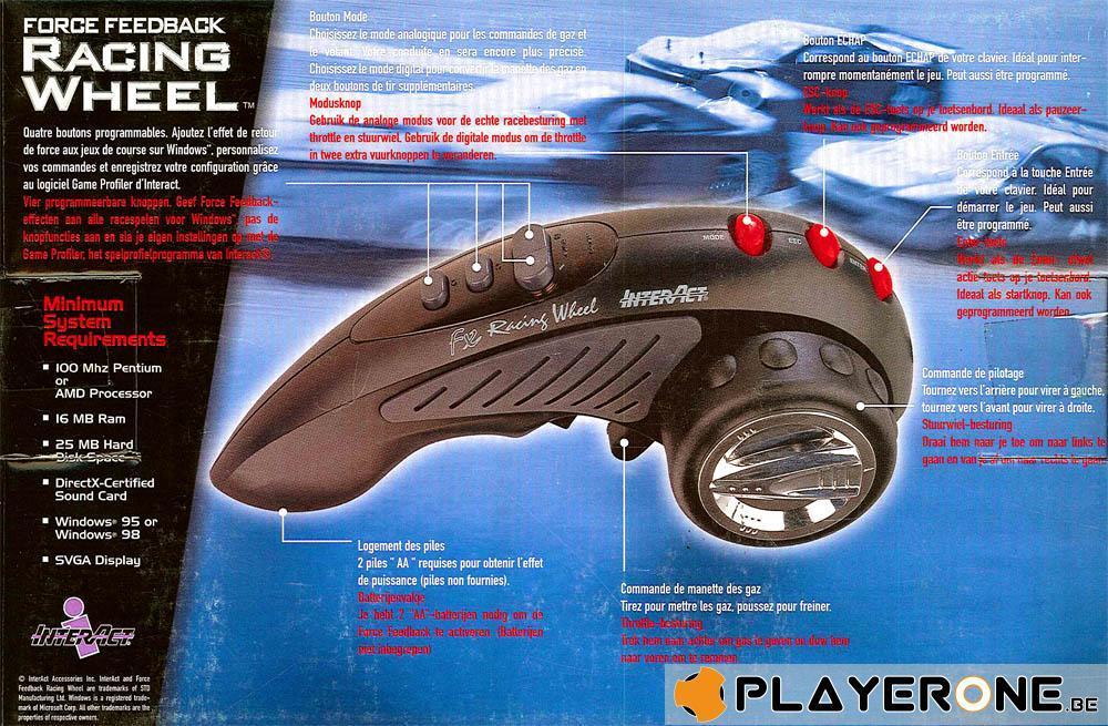 Force Feedback Racing Wheel InterAct_2