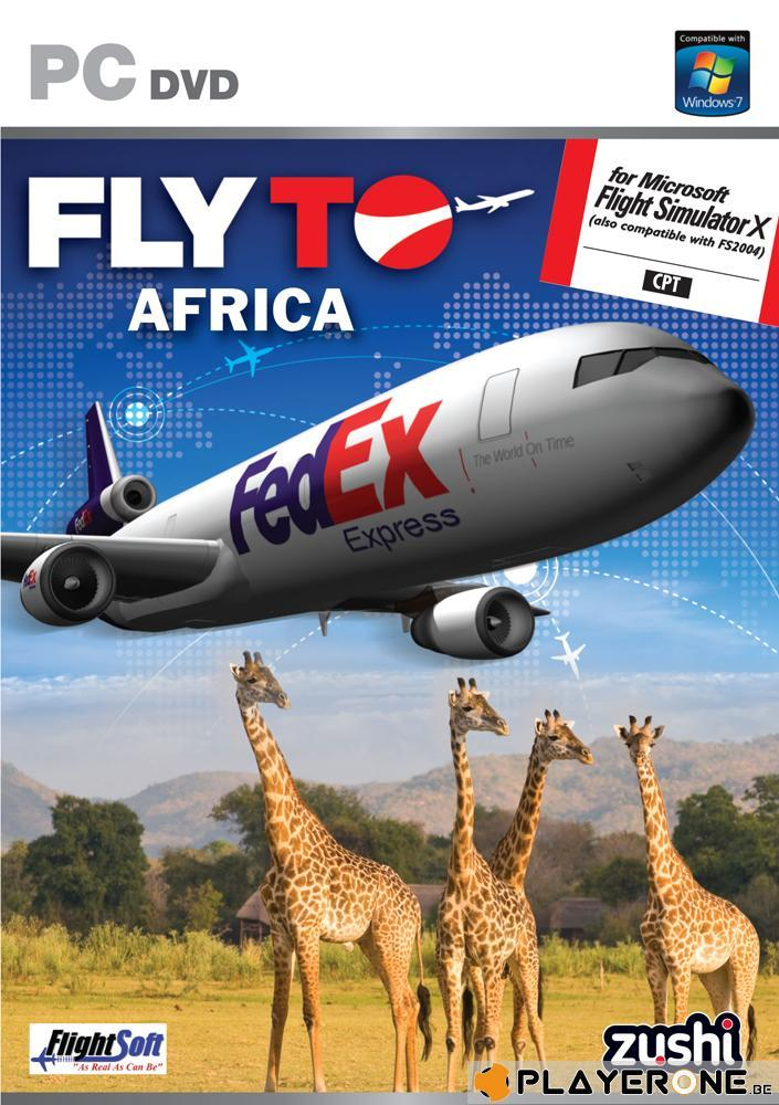 Fly To AFRICA ( for Flight Simulator X ) (UK only)